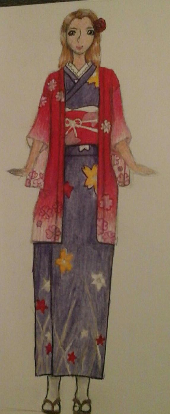 Kimono are fun. by KyashaKitsune