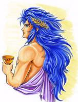 Greek Saga marker sketch by lucycat410