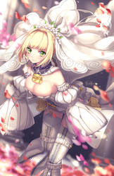 Nero Bride by tenmuki