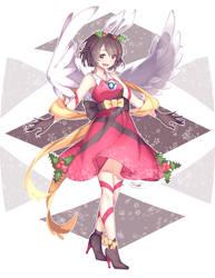 Christmas Bunny by tenmuki