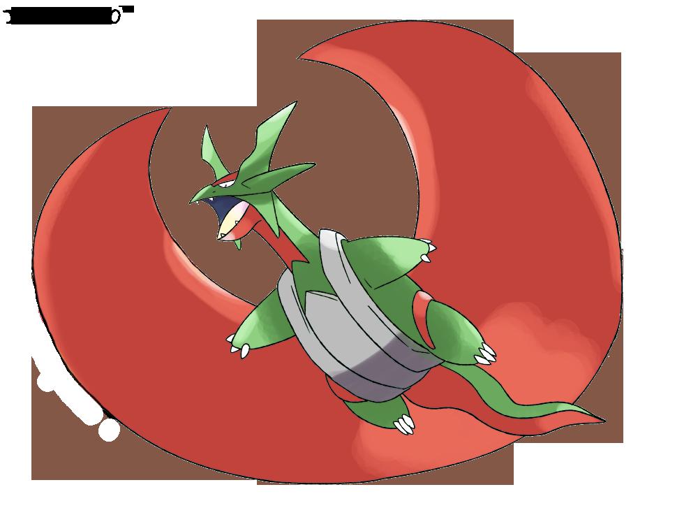 Salamence mega evolution the image kid - Pokemon tenefix ...