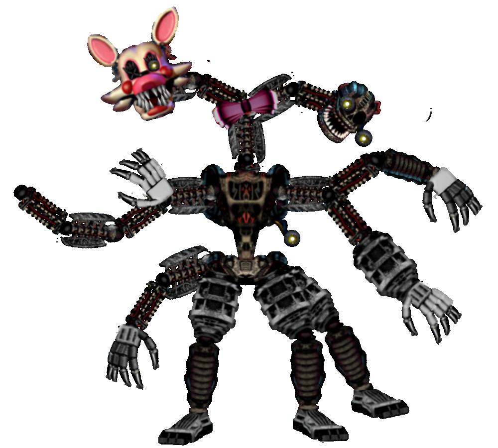Nightmare Mangle Remake (FNAF 2 DLC) By XXxMLGFNAFxXx On