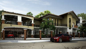Two-Storey Residence View 1