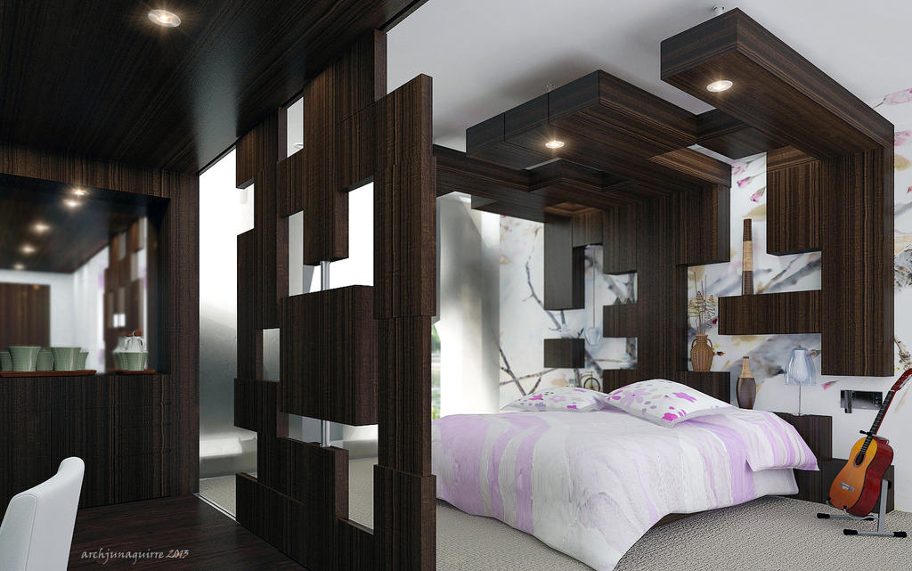 Hotel Room 1 by ARCHJUN