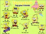 Tag your friends - spongebob