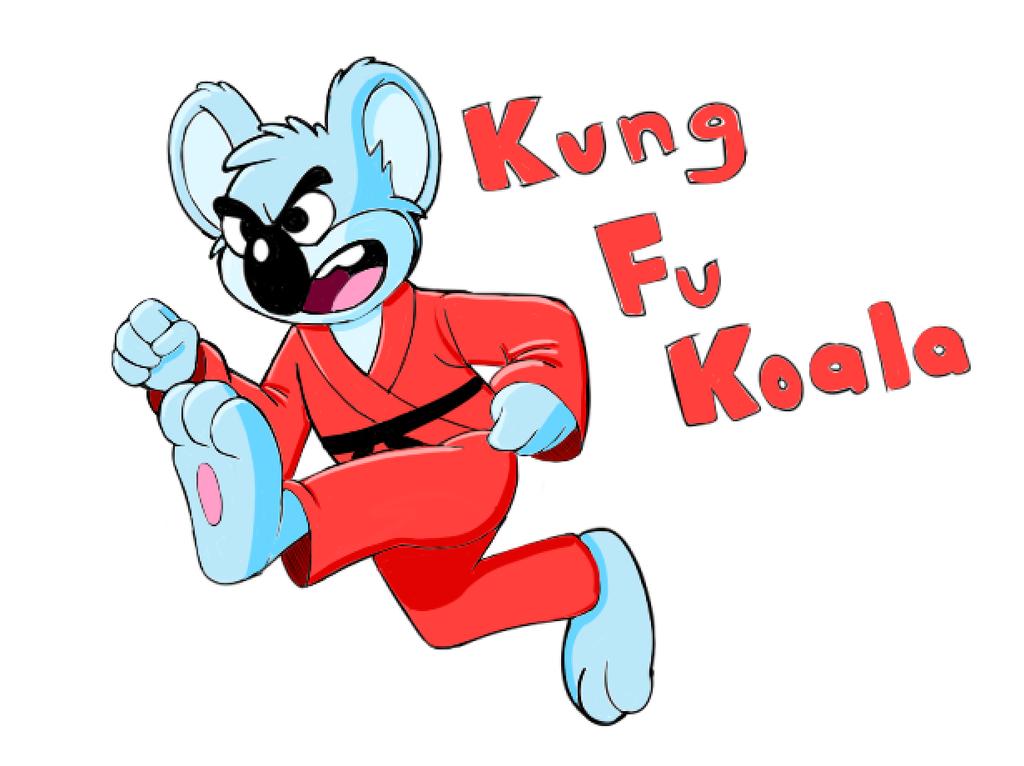 Kung Fu Koala by CheesyBear