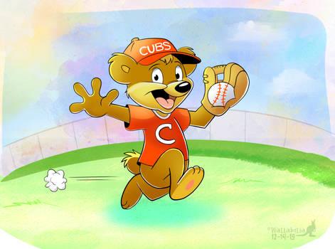 Carrington Bear Plays Baseball