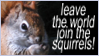Squirrel power by SicilianValkyrie