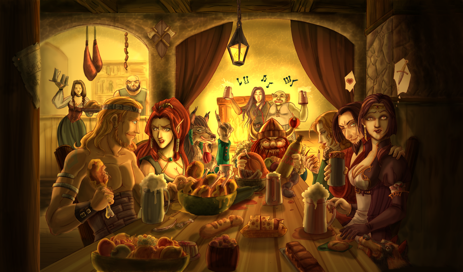 Commission Funny Tavern: Updated by SicilianValkyrie