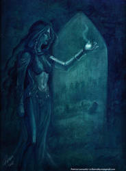 Lady Sylvanas, the Bansidhe by SicilianValkyrie
