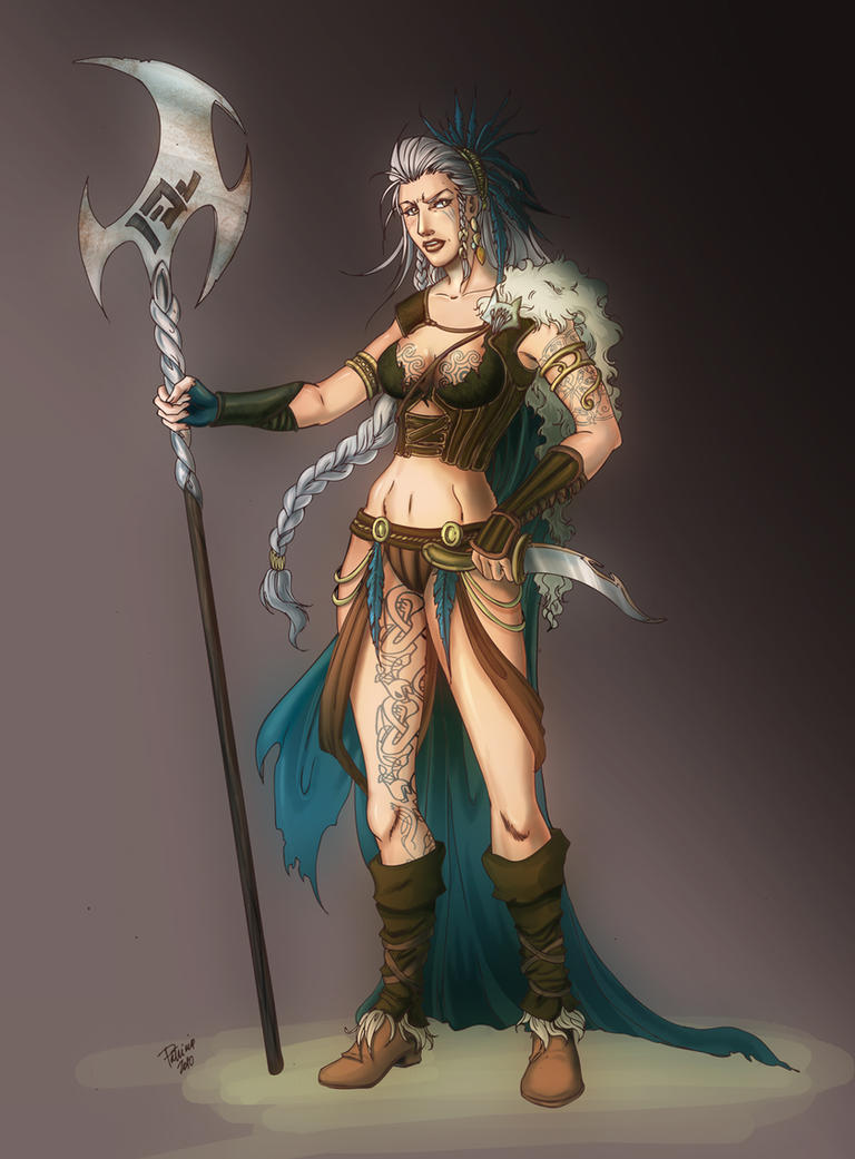 Gods and Godesses [NPC Race] Woodland_Protector_by_sicilianvalkyrie