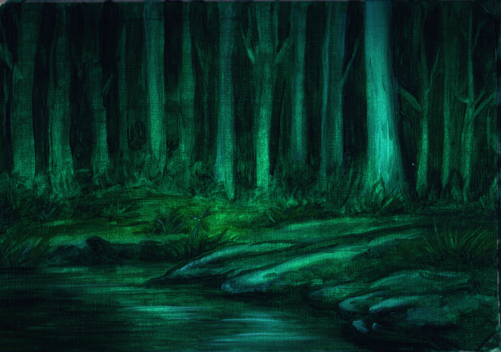 Grim Forest by SicilianValkyrie