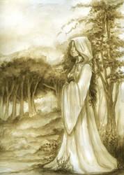 Confessor Kahlan WIP by SicilianValkyrie