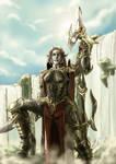 Collab: Dark Elf warrior
