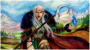 Comm: Dark Elf Sorcerer