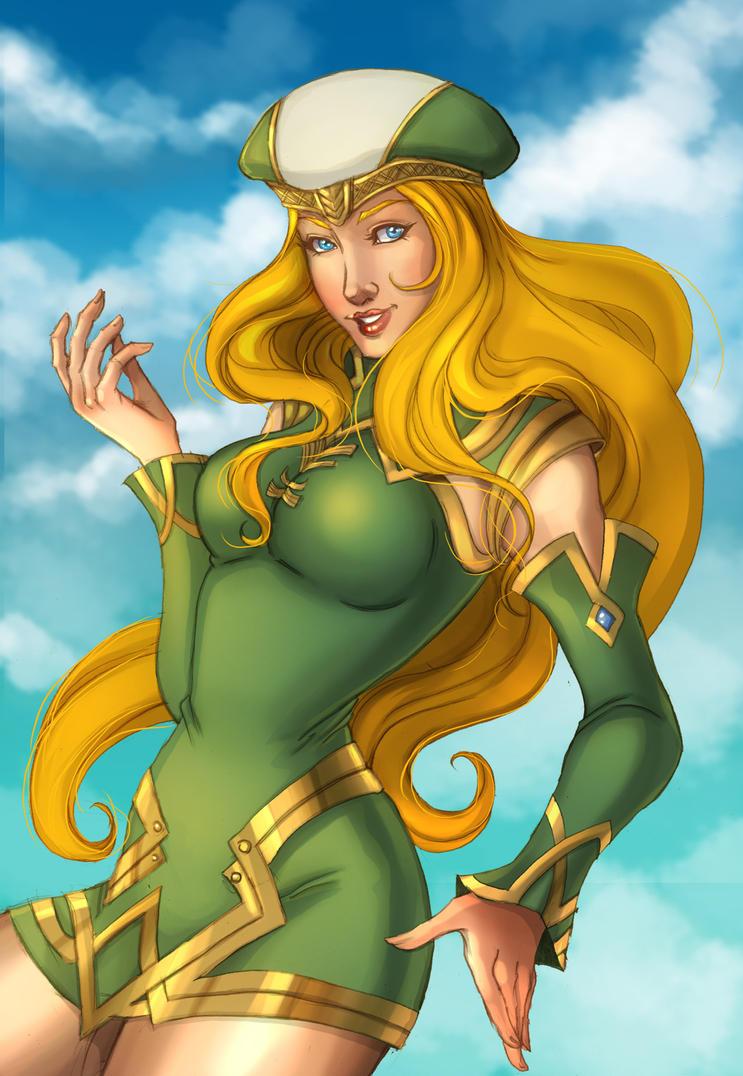 Comm: Freya by SicilianValkyrie