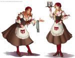 Comm: [WHA]  Tavern Maids