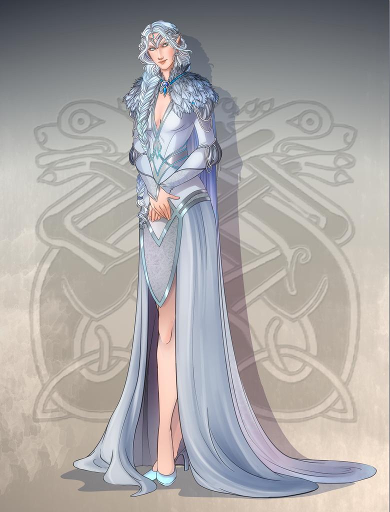 Comm: Elven queen by SicilianValkyrie