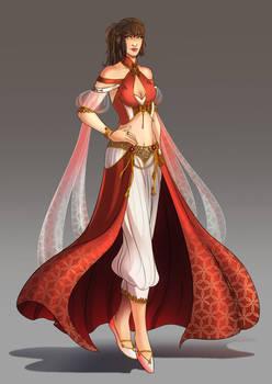 Commission: Human Princess