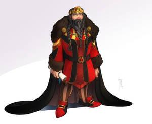 Commission: Dwarf King