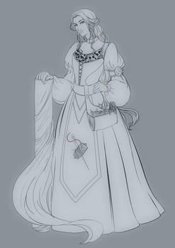 Comm: Lina the Seamstress