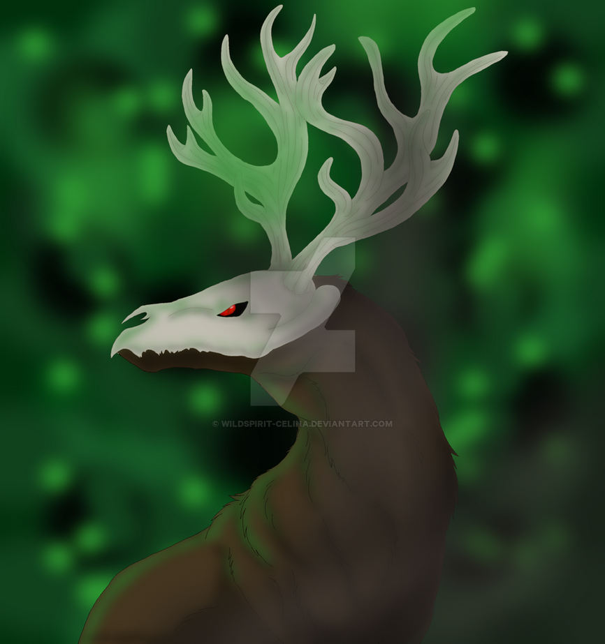 Forest Creature by wildspirit-celina