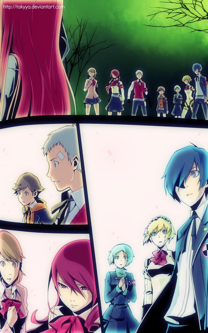 Persona 3 manga Vol 06 CHAPTER 26 by Takyya