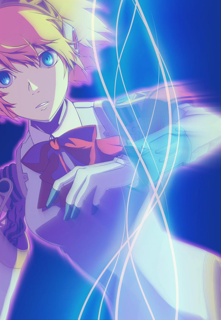 Persona 3 manga Vol7 Aigis by Takyya