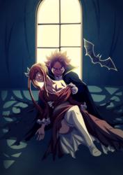 Fairy Tail - Halloween NatsuXLucy by Takyya