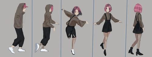 A change of posture