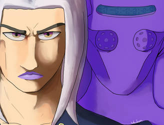 Abbacchio and Moody Blues by Woulvun