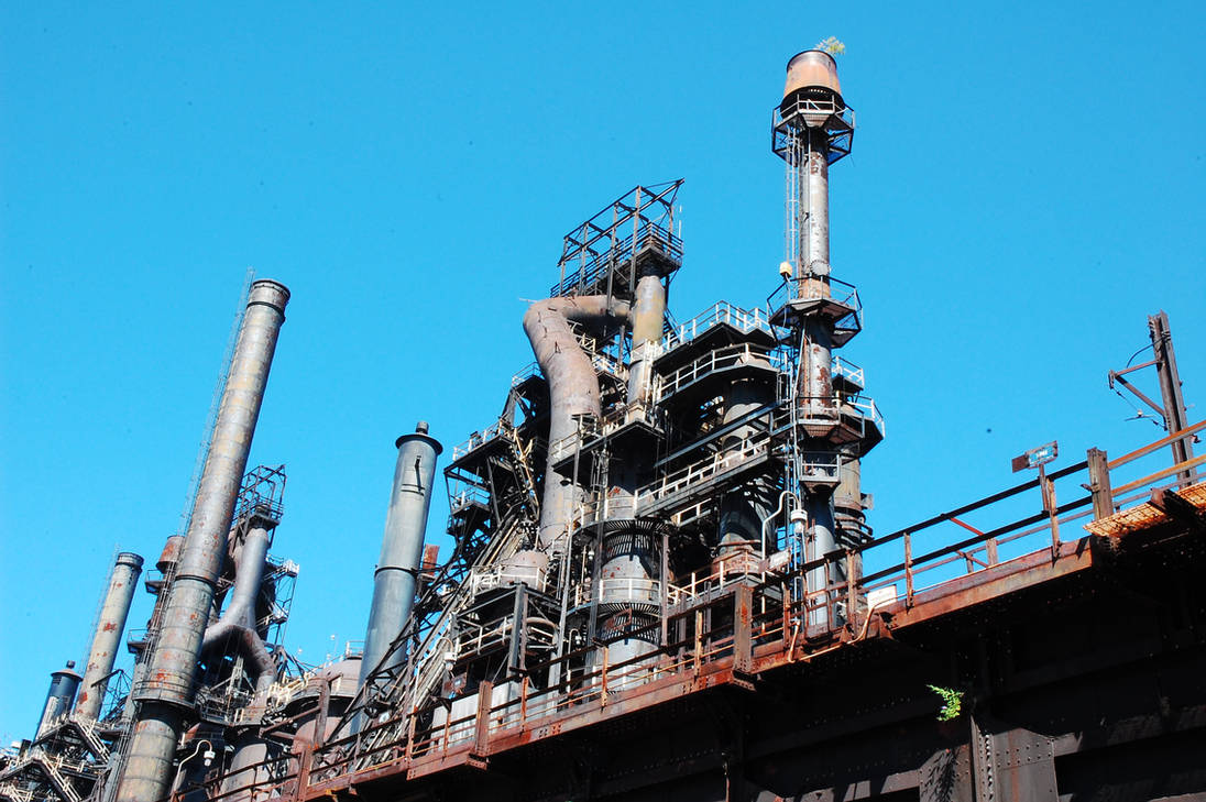 Bethlehem Steel Stacks in Lehigh Valley, Pa