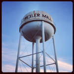 Water Tower Series: Trexler Mall by agentpalmer