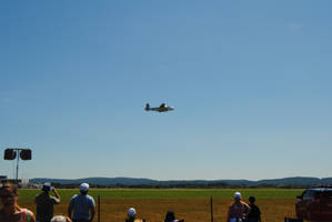 B-25 Mitchell - Panchito - Lehigh Valley Airshow by agentpalmer
