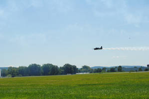 T-28 Trojan - Lehigh Valley Airshow by agentpalmer