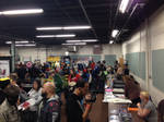 The Floor at The Great Allentown Comic Con