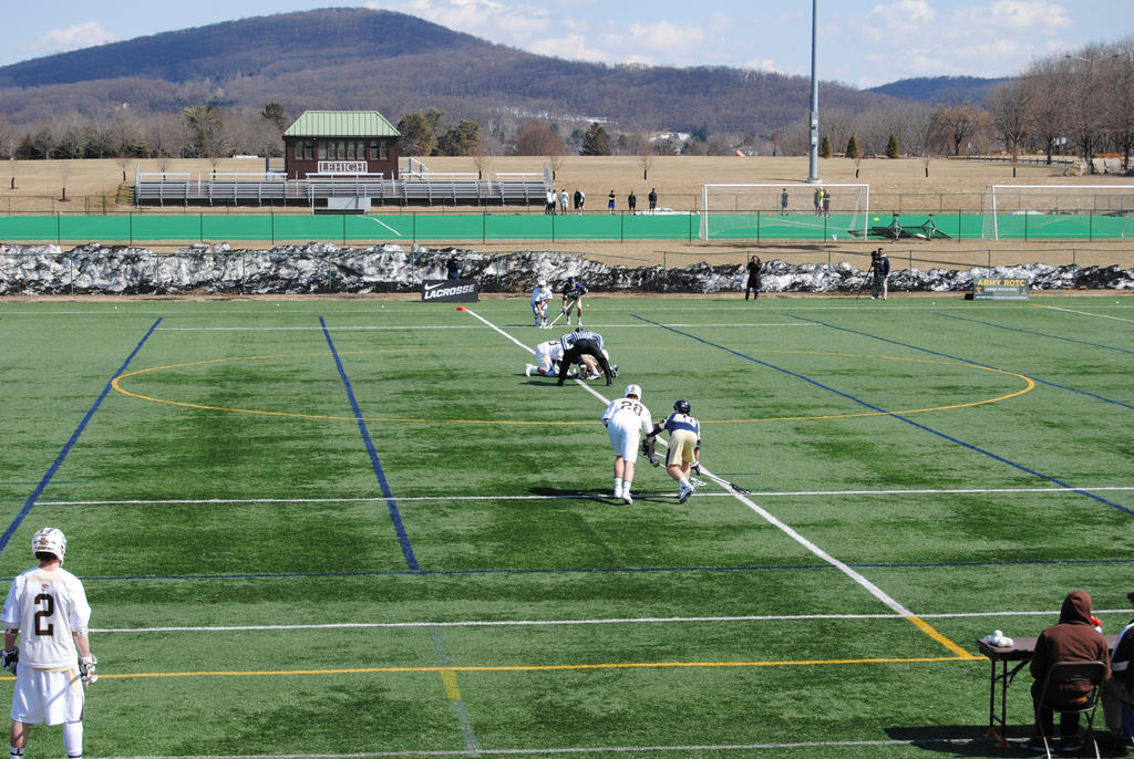 College Lacrosse - Lehigh v Navy - The Face-off by agentpalmer