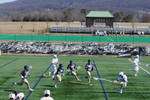 College Lacrosse - Lehigh v Navy - Missed Pass
