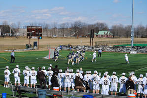 College Lacrosse - Lehigh v Navy - Jump Ball by agentpalmer