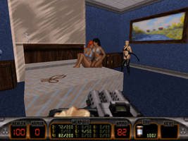 Duke interrupts a Porn Shoot - Duke Nukem 3D by agentpalmer