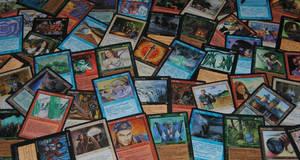 Magic: The Gathering Homelands Expansion Set by agentpalmer