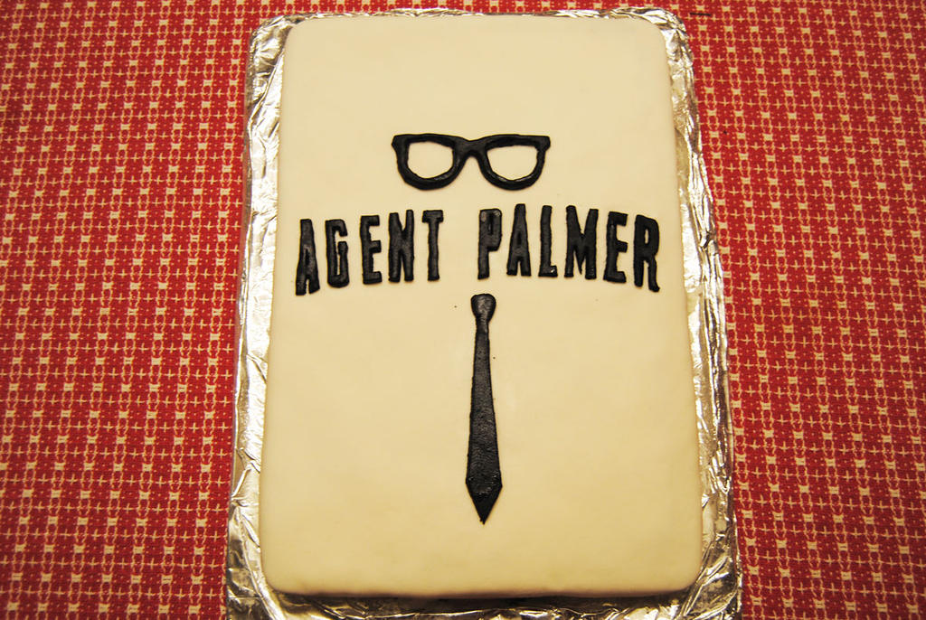 Let's Eat an Agent Palmer Cake by agentpalmer