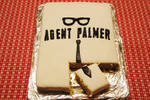 The second piece of An Agent Palmer Cake
