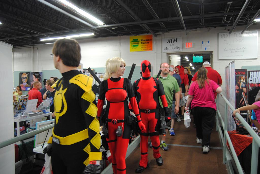 Deadpool Deadpool Everywhere by agentpalmer