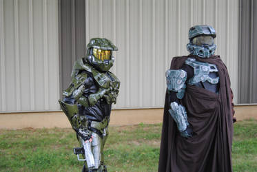 Halo Cosplay at The Great Allentown Comic Con by agentpalmer