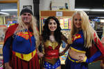 Two Super Women and a Wonder Woman by agentpalmer