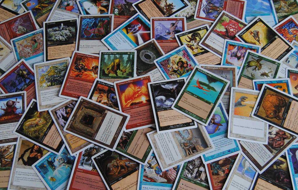 Magic: The Gathering Classic Sixth Edition Set by agentpalmer