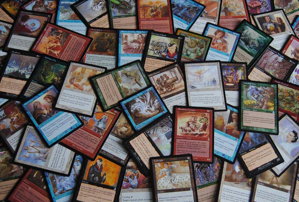 Magic: The Gathering Urza's Destiny Expansion Set by agentpalmer