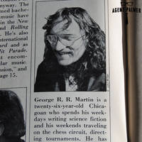 George R. R. Martin from 1975 Gallery Magazine