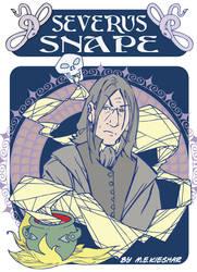 Severus Snape - fin badge art